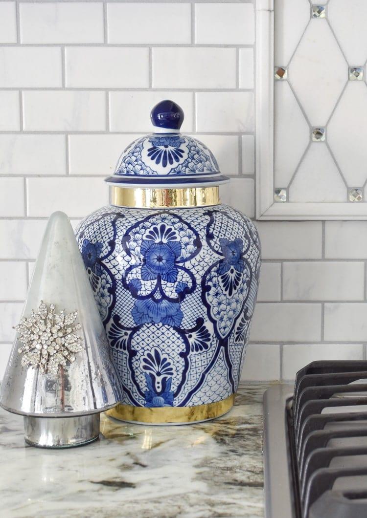 Ginger jar kitchen decor