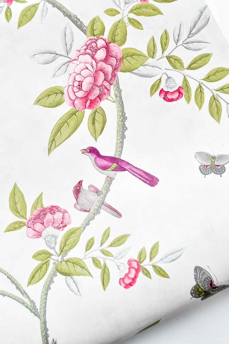 Graham and Brown chinoiserie wallpaper