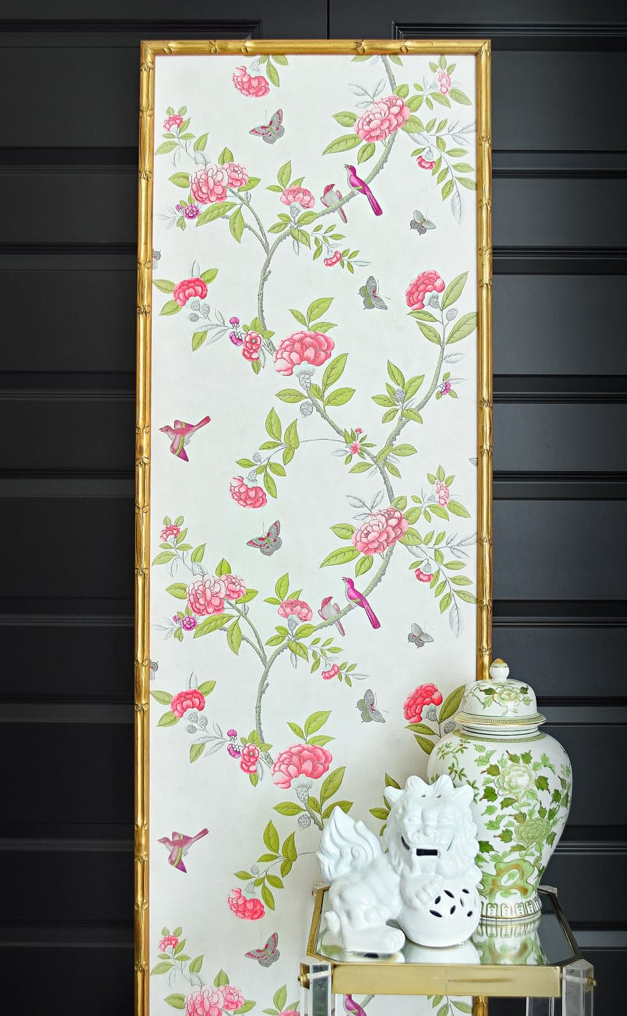 Chinoiserie office decor ideas