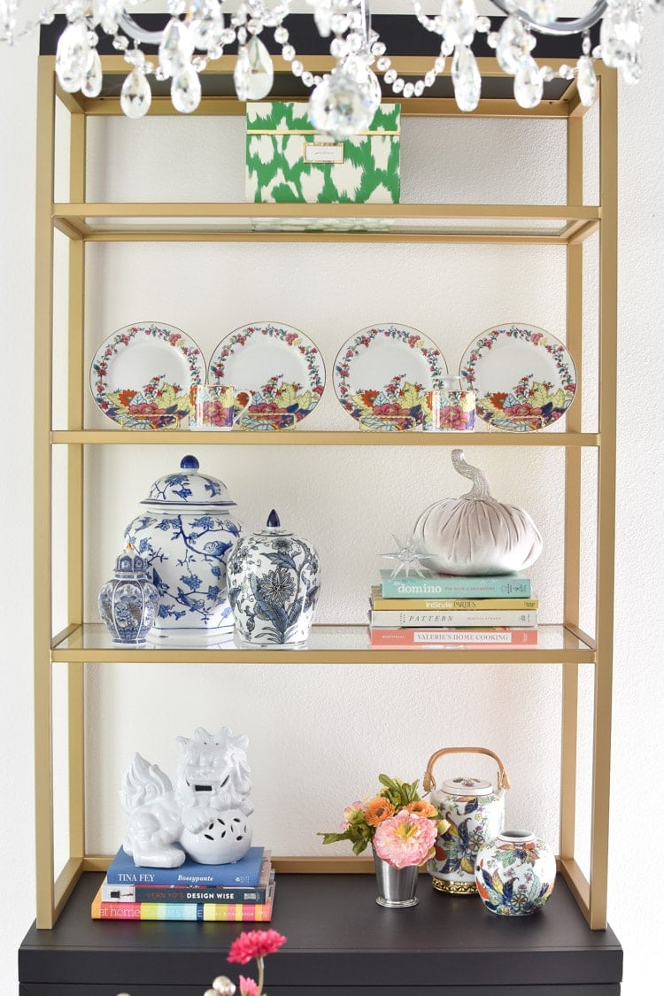 Dining room china display decor ideas