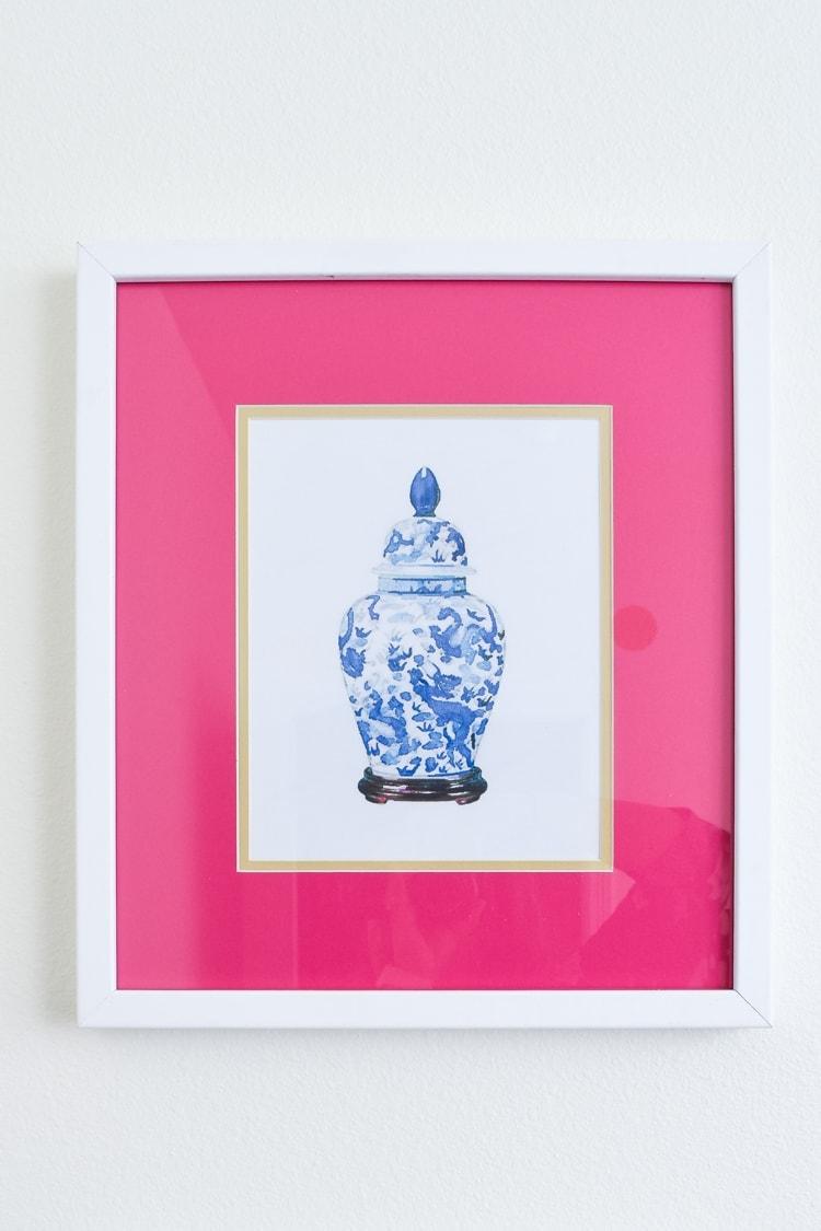 Free Ginger Jar Printable Artwork