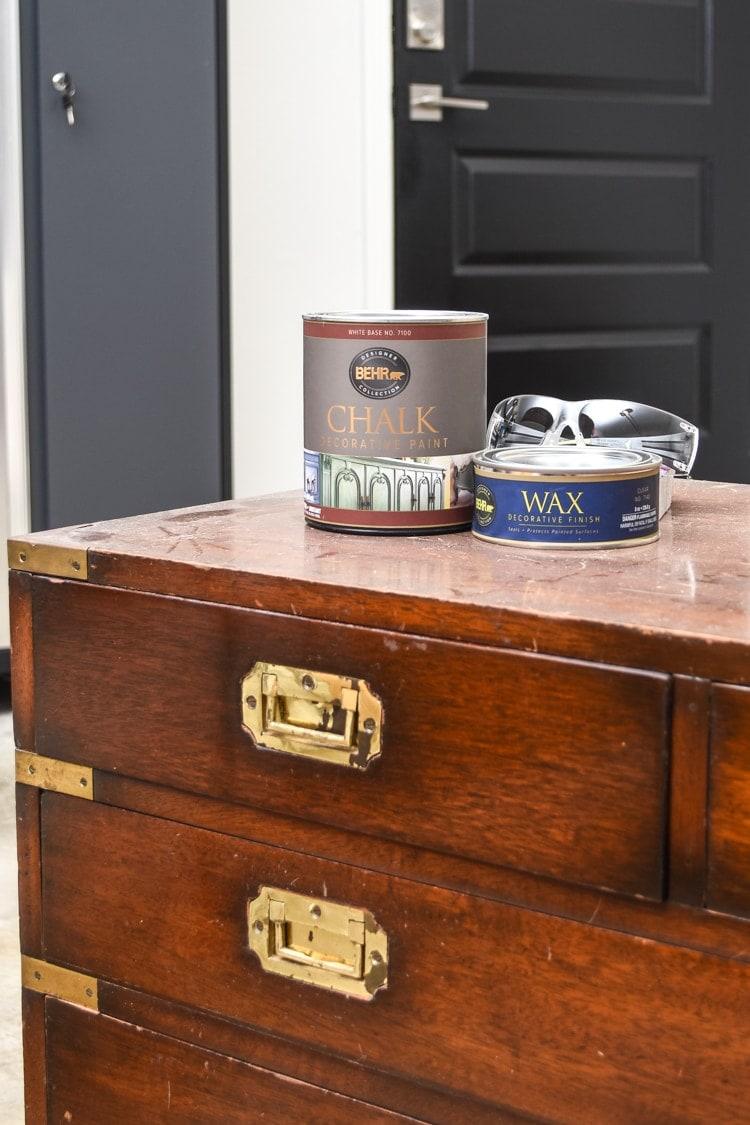 BEHR Chalk Paint Review
