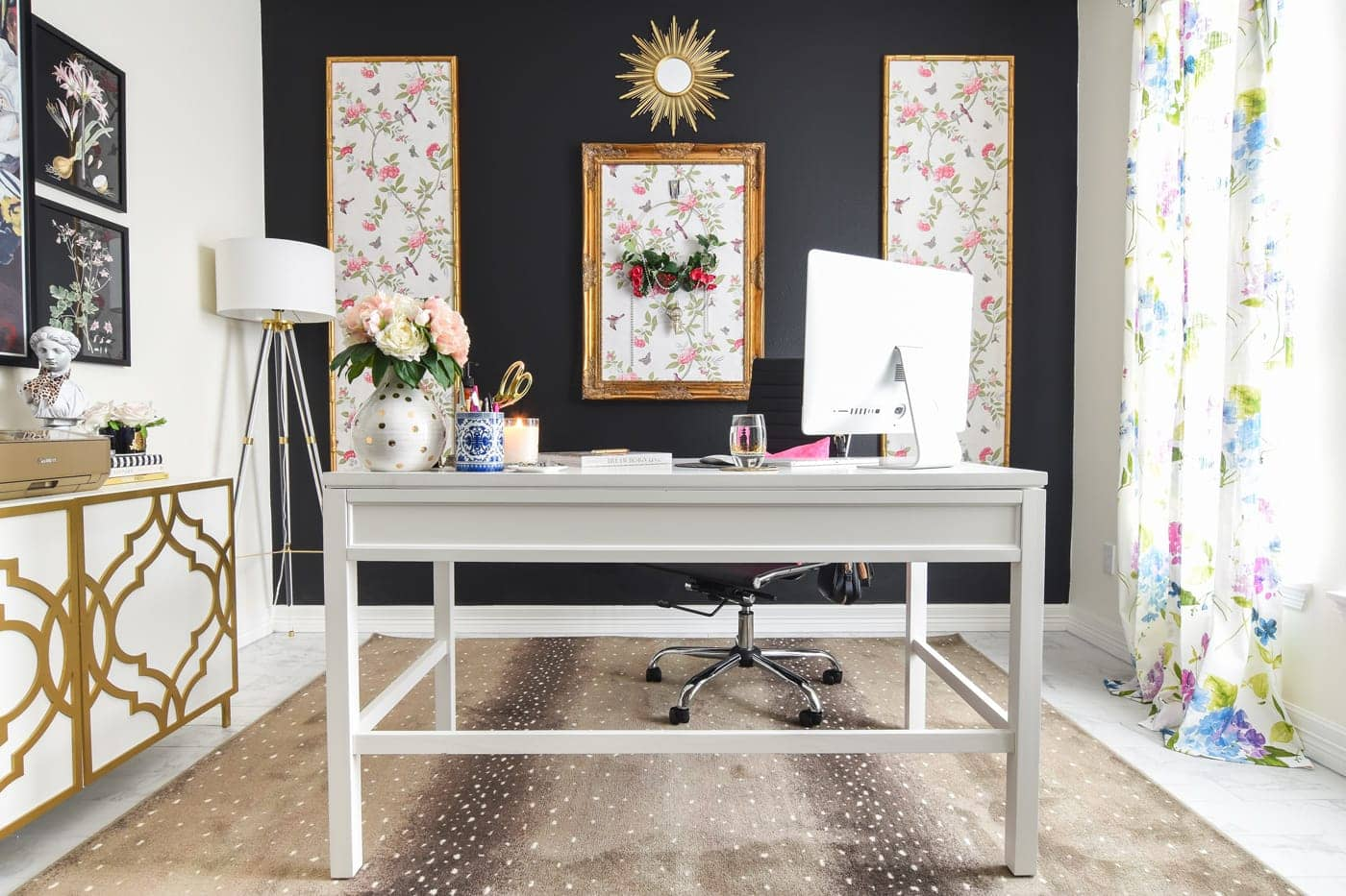 Home Office Decor: Room Reveal